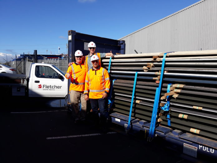 Nz Company Donates 20 Tonnes Of Roofing Iron For Tongan